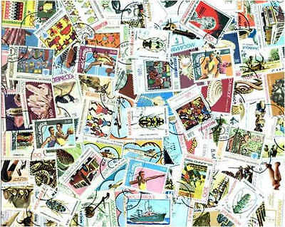 Mozambique Stamp Collection - 100 Different Stamps