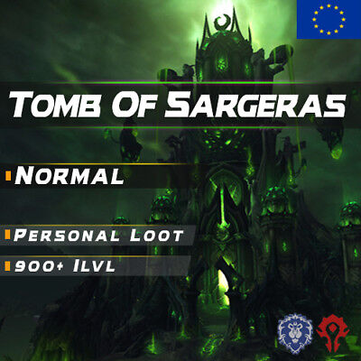 WoW Boost ✯ Normal Tomb Of Sargeras 9/9 Personal Loot ✯ All EU Side ✯