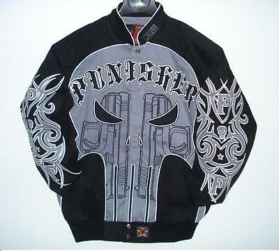 Size Xl Authentic Hollywood The Punisher  Emboidered Cotton Jacket Xl