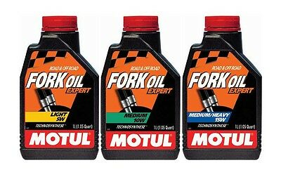 Motul SYNTHETIC FORK OIL FACTORY LINE 10W MED HEAVY