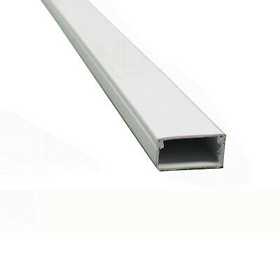 3M PVC Plastic Electrical Trunking Cable Tidy 50 x 50mm