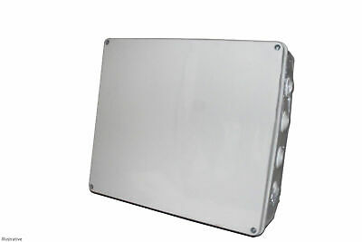 IP65 Large Waterproof Joint Outdoor CCTV/Electrical Junction Box 400x350x120mm