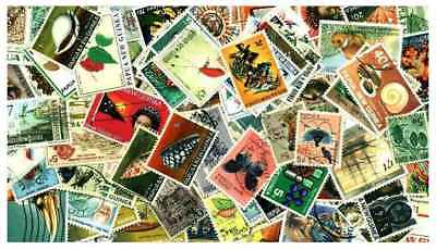 Papua New Guinea Collection - 175 Different Stamps