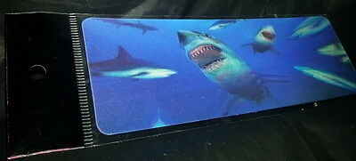 3D Bookmark of A Shark who comes to take a bite