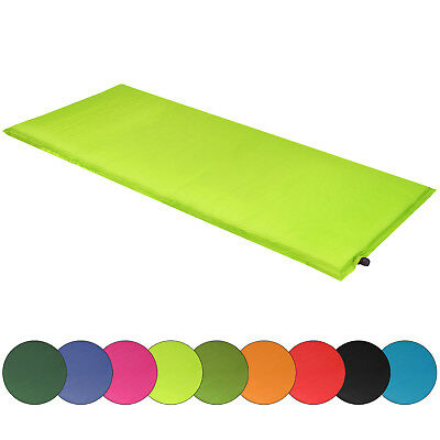 Camping-Isomatte-Self-Inflating-Neck-Guard-Backpacking-Travel-Mat-w-Kissen