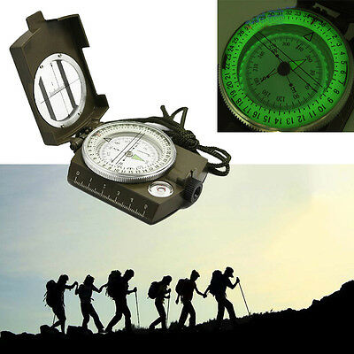New Professional Pocket Military Army Geology Compass For Outdoor Camping Hiking