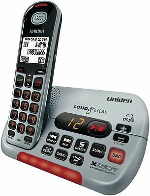 Uniden Sse35 Visual & Hearing Impaired Cordless Phone System+Answer Machine