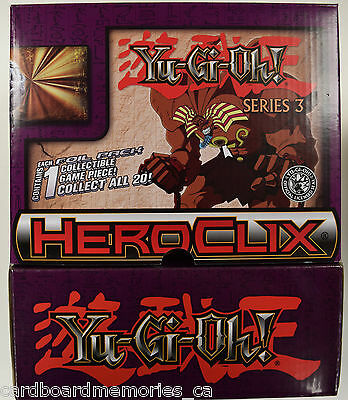 HeroClix - Yugioh! Series 3 Gravity Feed Booster Case (2 Boxes)
