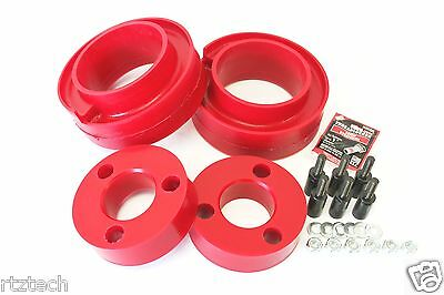 """Fits Pathfinder 2005-2015 Lift Kit 2.5"""" & 1.5"""" Poly Coil Strut Spacers R 4Wd Usa"""