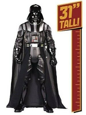 Star Wars Exclusive Deluxe Darth Vader Figure W/Lightsaber Sound EFX- New in Box