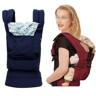 Newborn Kid Infant Baby Carrier Backpack Front Back Sling Wrap Bag Adjustable