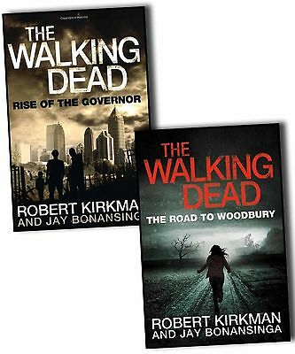 Robert Kirkman Jay Bonansinga Walking Dead 2 Books Collection Pack Set Brand New