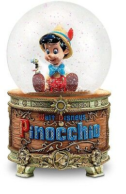 Authentic Disney Pinocchio Snowglobe Nib
