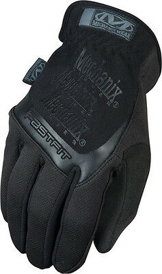 NEW Mechanix Fastfit 2016 Covert Black Tactical Military Gloves handschuh