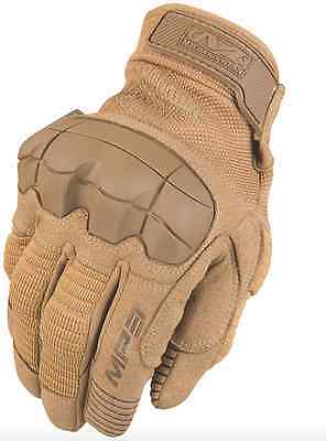 NEW Mechanix M-PACT 3 2015 Tactical Airsoft Gloves Handschuhe Coyote Brown