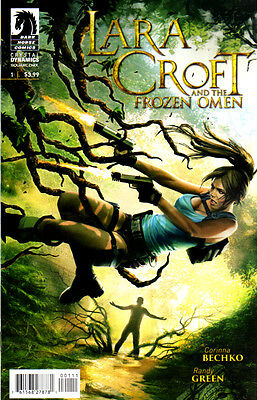 LARA CROFT and the FROZEN OMEN #1 New Bagged