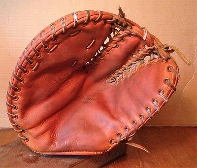 Stan Musial Rawlings Personal Model Claw First Base Mitt