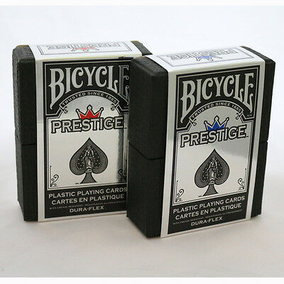 Prestige Bicycle Deck - Quality Plastic Dura Flex Playing Cards from USPCC