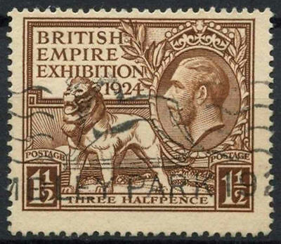 GB KGV 1924 SG#431, 1.5d British Empire Exhibition Wembley Used #D7990
