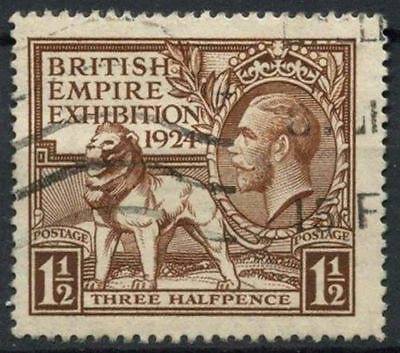 GB KGV 1924 SG#431, 1.5d British Empire Exhibition Wembley Used #D7995