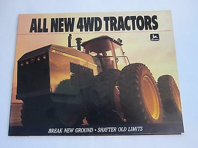 1988 John Deere ALL NEW 4WD 8560 8760 john deere 8560 8760 8960 tractor factory tech operation tests