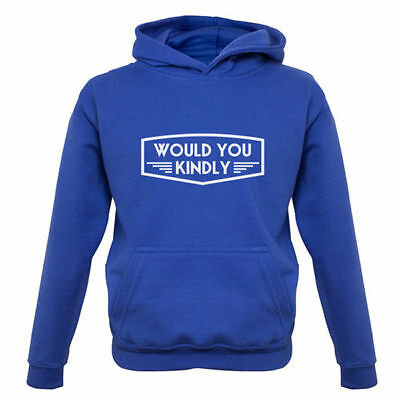 Would You Kindly - Kids / Childrens Hoodie - Video Game - Funny - 7 Colours