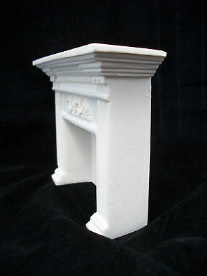 Fireplace Colonial 1 plaster & resin  dollhouse #UMF2   1/12 scale miniature