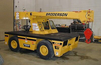 Broderson IC80-3E Remanufactured Industrial Crane