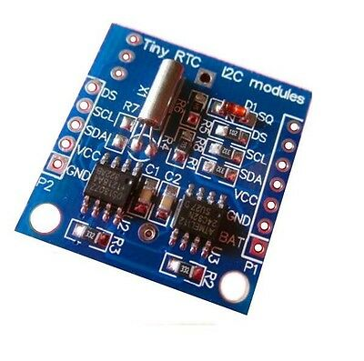 10PCS  I2C RTC DS1307 AT24C32 Real Time Clock NEW