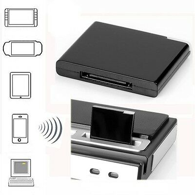 Bluetooth A2DP Music Receiver Audio Adapter for iPod iPhone 30-Pin Dock Speaker