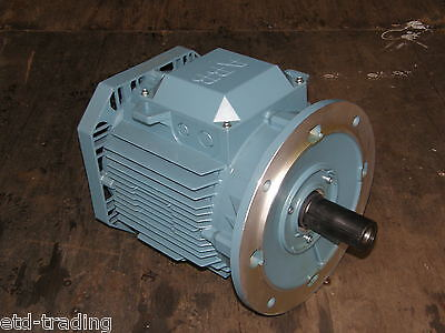 5.5Kw Abb Electric Motor 2800Rpm 3 Phase 2 Pole 7.5Hp Ie2 Flange Mounted B5