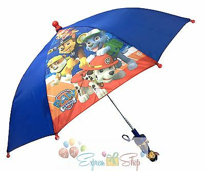 Nick Jr. Paw Patrol Chase Molded Handle Umbrella for Kids