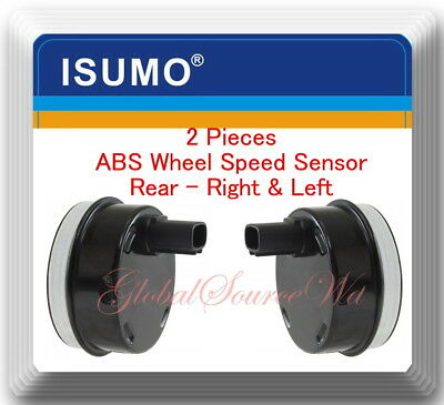 Set 2 ABS Wheel Speed Sensor Rear Left  & Right Fits:Scion xA xB Toyota Echo