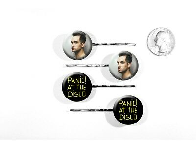 Panic! At The Disco Death of a Bachelor Brendon Urie Set of 4 Bobby Pins