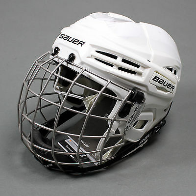 Bauer IMS 5.0 Ice Hockey Helmet Combo White Various Sizes (NEW)