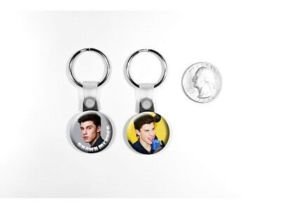 Shawn Mendes Teen Canadian Singer 'Stitches' Set of 2 Key Chains
