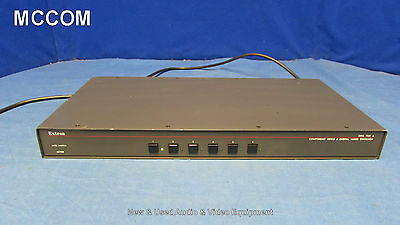 Extron SW6 YUV A Six Input Component Video and Digital Audio Switcher