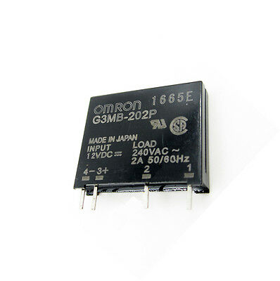 1PCS G3MB-202P DC-AC PCB SSR In 12V DC AC 2A Out 240V Solid State Relay Module