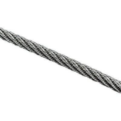 Wire Rope 3.2mm 7x7 AISI 316 5 Metres