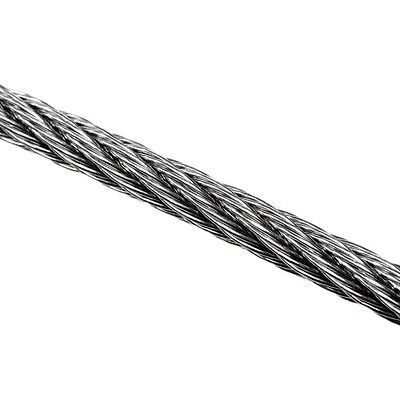 Wire Rope 10mm 7x7 AISI 316 Per Metre