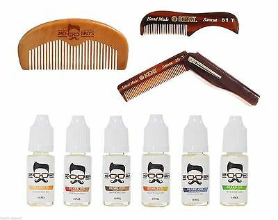 Mo Bros Peigne À Barbe & Barbe Conditionnement Huile - Stylisation Kit