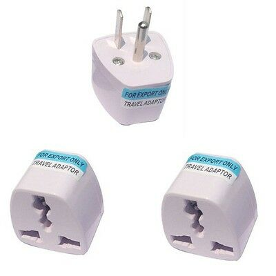 Universal UK EU AU to US USA AC Travel Power Outlet Converter Plug Adapter YMVO
