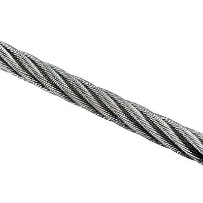 Wire Rope 12mm 7x19 AISI 316 Per Metre