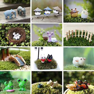 Cute Fairy Dollhouse Decoration Garden Ornament Miniature Figurine Craft Plant