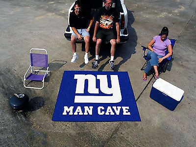 Fanmats NFL-New York Giants Man Cave Tailgater Rug 5' x 6' 14343 NEW