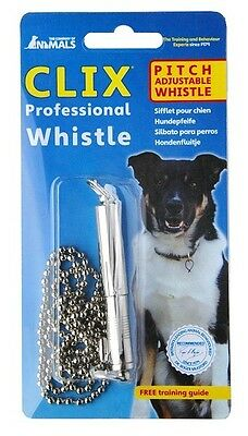 Clix Professional Whistle for Dog - Recall, Training and Obedience