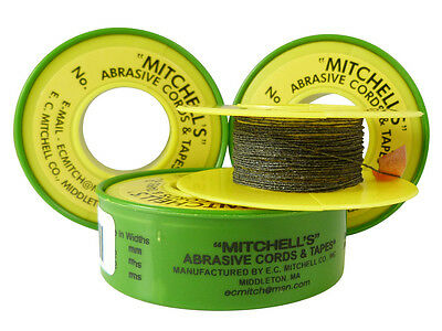 Mitchell's Abrasive Cord (12ft) for Smoothing Guitar Nut Slots,Saddles,Threads..