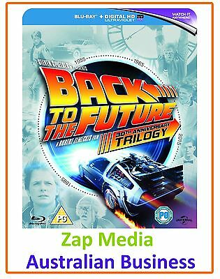 Back to The Future Trilogy **Blu-ray - BRAND NEW & Region Free**
