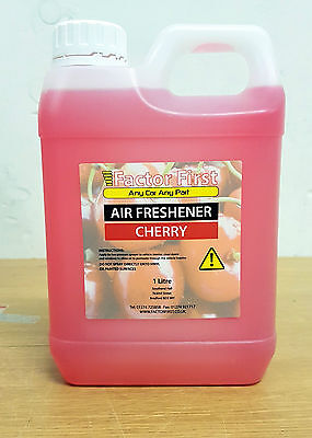 CHERRY CAR AIR FRESHENER LIQUID CONCENTRATE 1 Litre CAR VALETING FACTOR FIRST