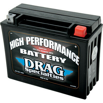 Drag Specialties High Performance 350 CCA Cold Cranking Amps Battery 24H Harley